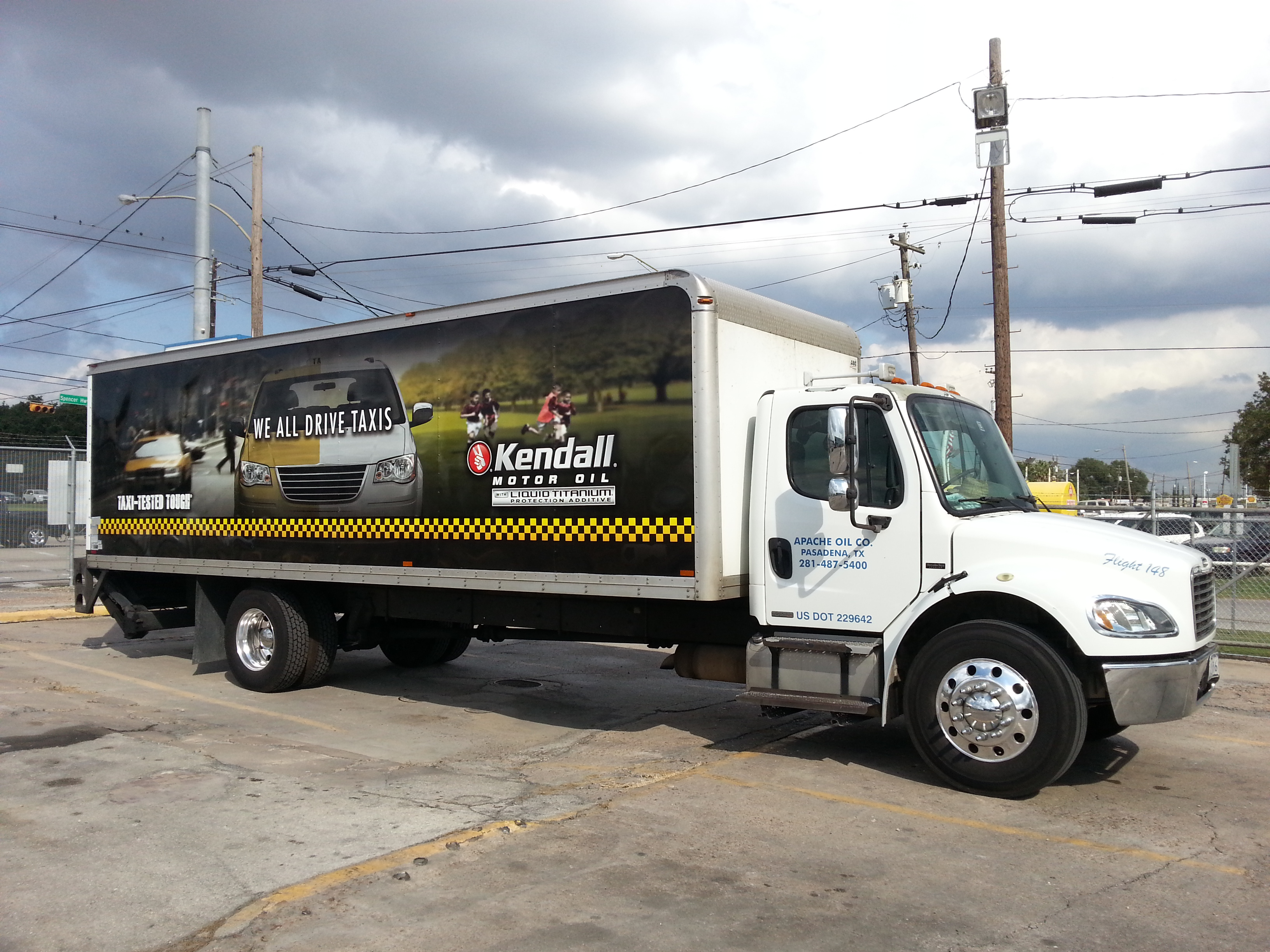 Apache oil company photos for Kendall motor oil distributors