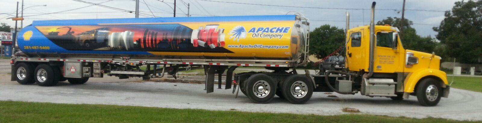 Apache Oil Company's Fuel Delivery Tankers