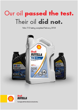 Shell Rotella T4 vs Mobil Oil